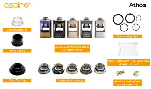Aspire Athos Accessories