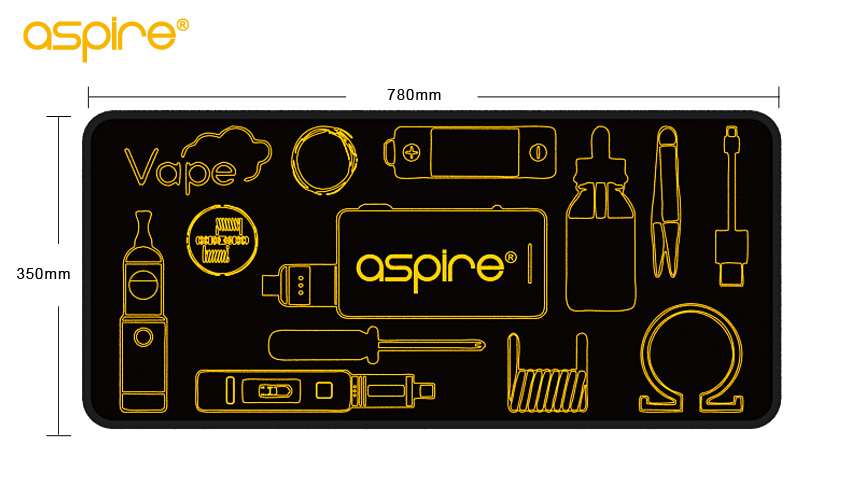Aspire Mouse Pad 30*25MM