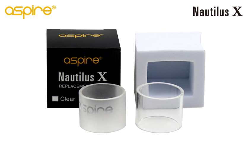 Aspire Nautilus X Replacement Pyrex Glass tube