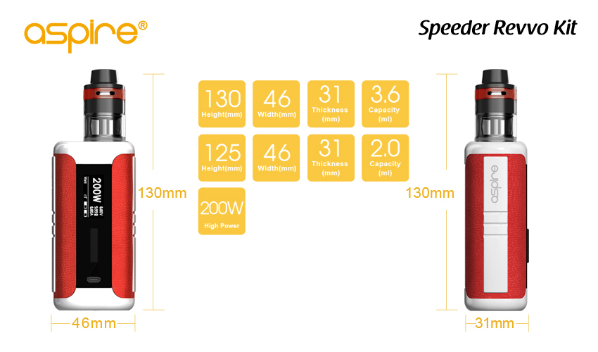 Aspire Speeder Revvo Kit
