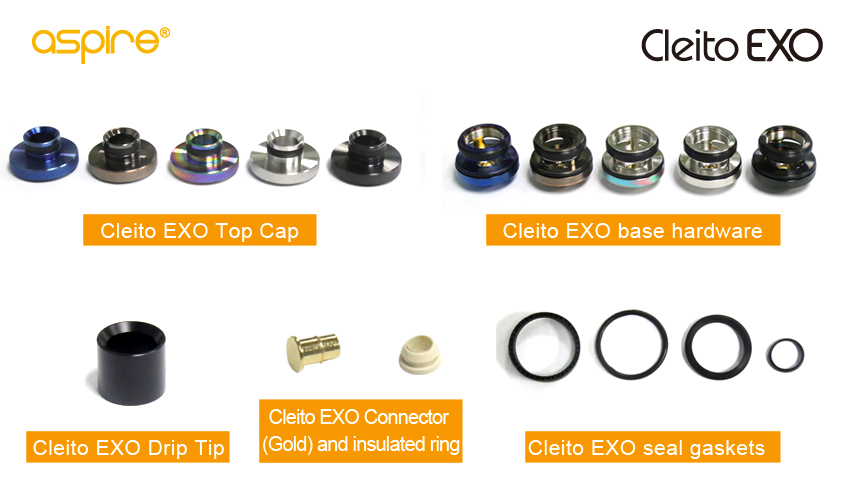 Aspire Cleito EXO Accessories